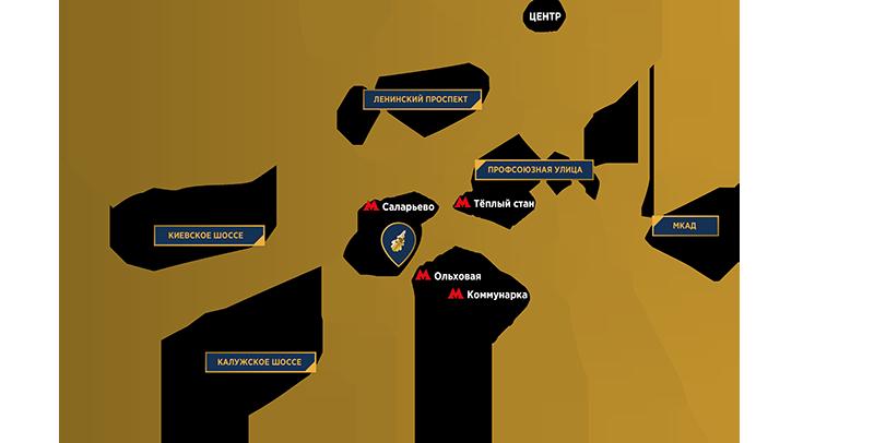 Схема проезда машине москва 782